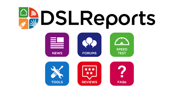 DSLReports Home : Broadband ISP Reviews News Tools and Forums
